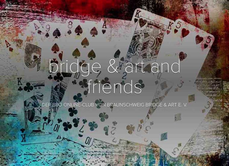 bridge & art and friends